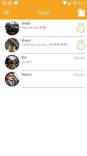 UAround Messenger - náhled