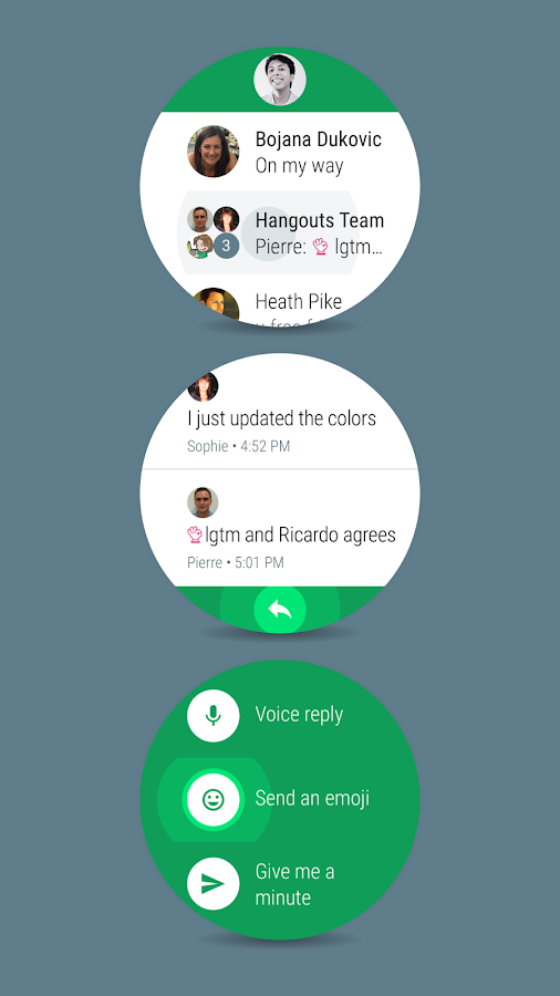 Hangouts- screenshot