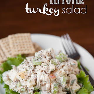 Turkey Salad No Mayo Recipes