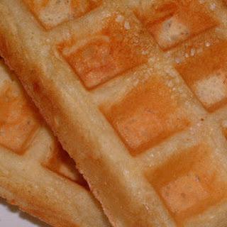 Spicy Cinnamon Waffles