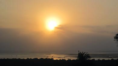 Photo: sunset in Inhambane, Mozambique