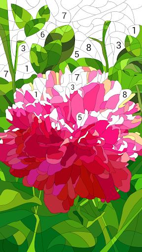 Happy Color – jeux de coloriage par numéros fond d'écran 2