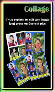 Camera Collage Auto Changger screenshot