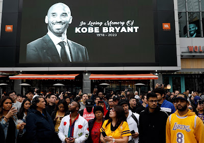 "Mort de Kobe Bryant : le monde du football rend hommage au ""Black Mamba"""