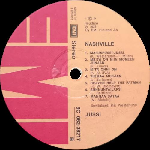 Albumin etiketti B-puoli