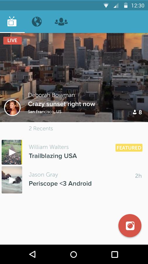 Periscope- screenshot