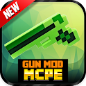Gun Mod For MCPE` icon