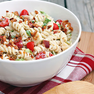 Ranch BLT Pasta Salad.
