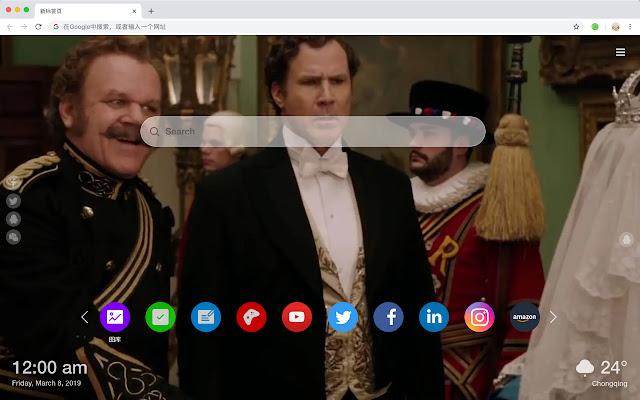 Holmes & Watsonn HD New Tab Movies Themes