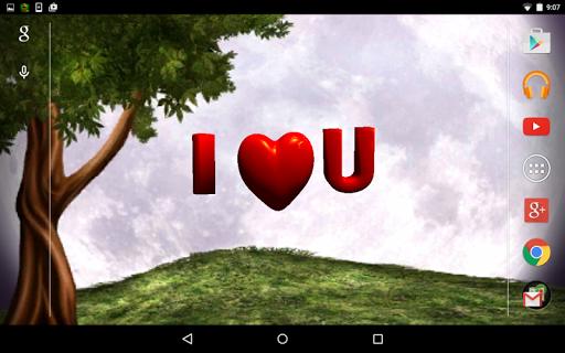 Love Heart 3D LiveWallpaper