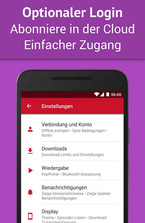 Podcast Player - Kostenlos – Screenshot