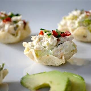 Avocado Tuna Salad Bites.