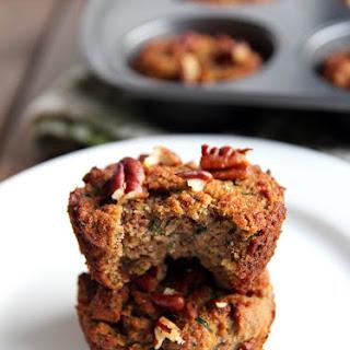 Grain-free Coconut Flour Zucchini Muffins.