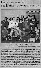 Photo: 02-01-96 Benjamins et benjamines en verve au tournoi de Jarny