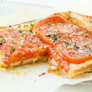Tomato and Mozzarella Tart Recipe