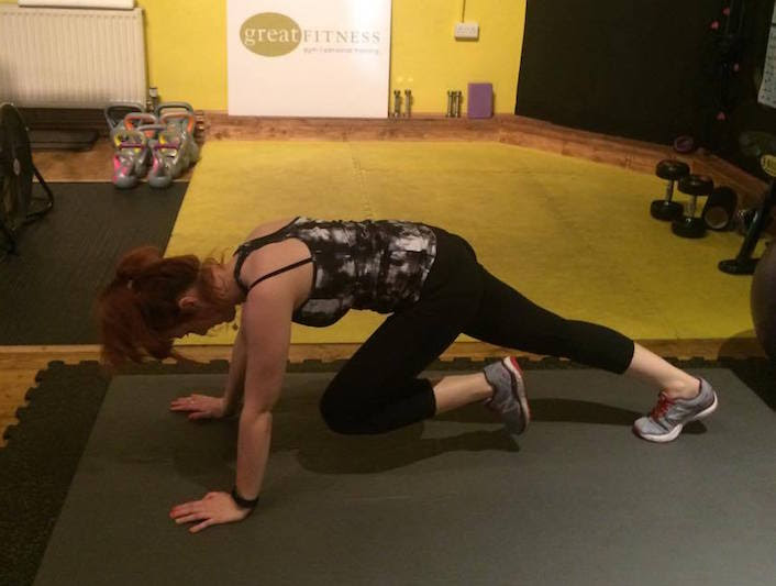 Day three of our June fitness burst