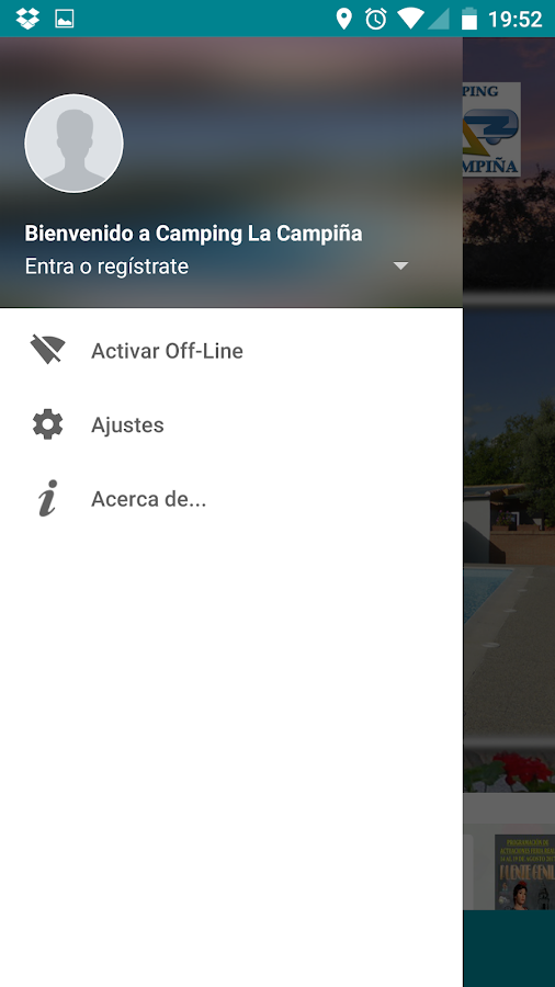Camping La Campiña- screenshot