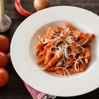 Cheesy and Easy Mostaccioli.