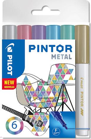Märkpenna Pintor metall 6/fp