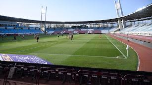 Estadio de los Juegos Mediterráneos.