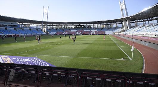 El Almería-Sporting, en imágenes