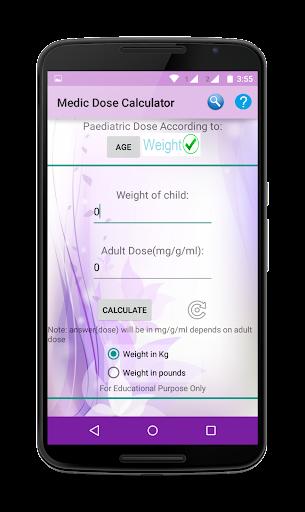 Medic Dose Calculator Premium