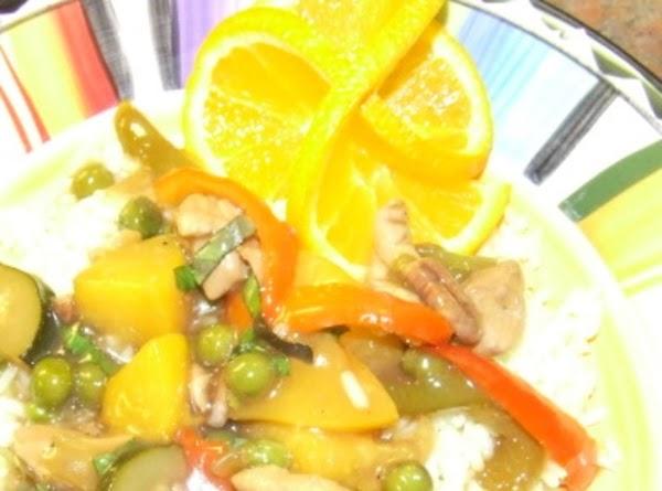 Georgia Oriental Chicken Recipe