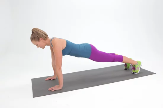 The tradional plank exercise