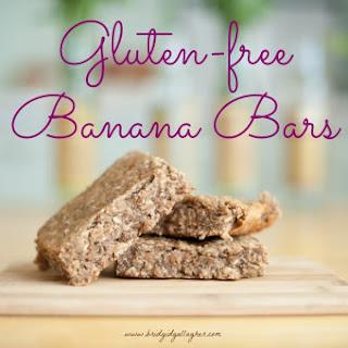 Gluten-free, Vegan Banana Bars
