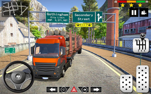 Cargo Delivery Truck Parking Simulator Games 2020 apkmr screenshots 4