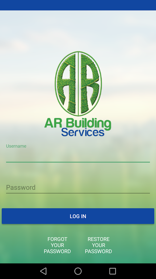AR Building Services Mobile- screenshot