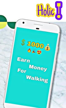 Holic! - Pedometer -Earn Money For Walking-Browser screenshot 2