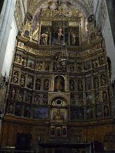 Photo: Altar mayor de la catedral de Palencia