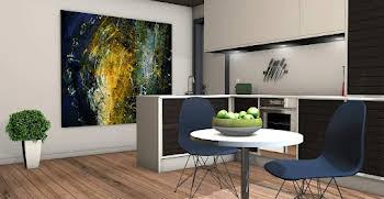 Appartement 4 pièces 85,52 m2