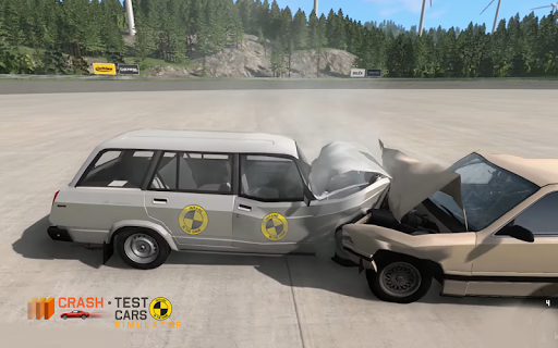Car Crash Test VAZ 2104  captures d'u00e9cran 1