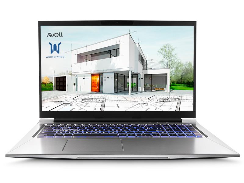Foto de Melhor notebook para arquitetos do modelo Avell C65 MUV