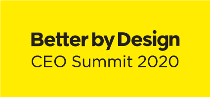 Better By Design - CEO Summit 2020 Logo