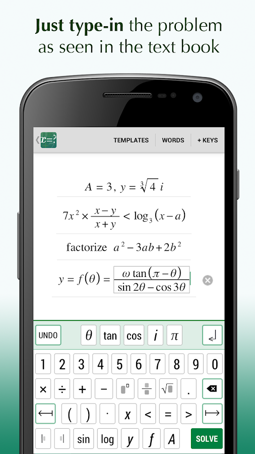 fx algebra problem solver android apps on google play fx algebra problem solver screenshot