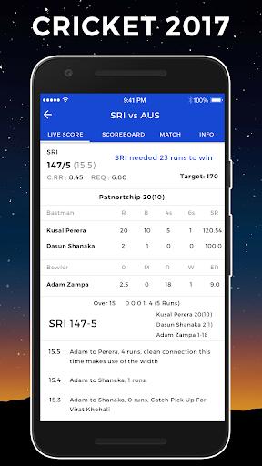 Live Cricket Match 2.0 screenshots 6