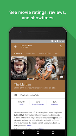 Screenshot 3 for Google's Android app'