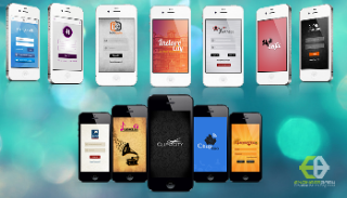Photo: The apps we have developed