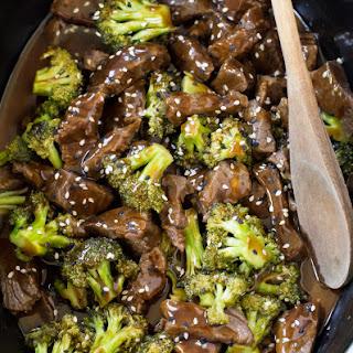 Slow Cooker Broccoli Beef.
