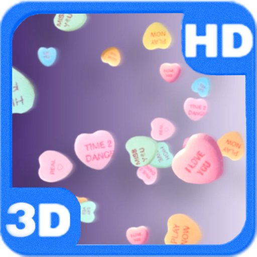 Candy Sweet Hearts of Love 3D