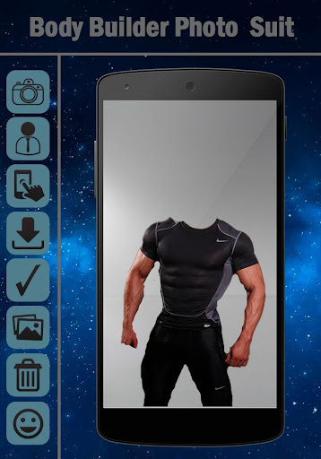 Body Builder Photo Suit Editor