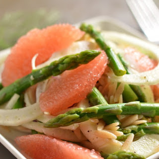 Spring Orzo Salad with Fennel and Asparagus