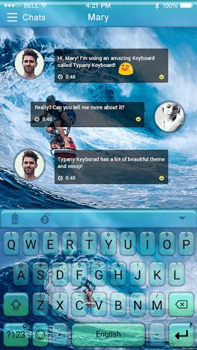 mod Hawaii Summer Surf Emoji Theme 2.5 screenshots 1