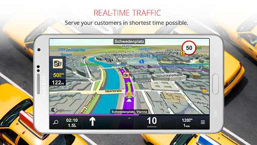 Sygic Taxi Navigation screenshot 7