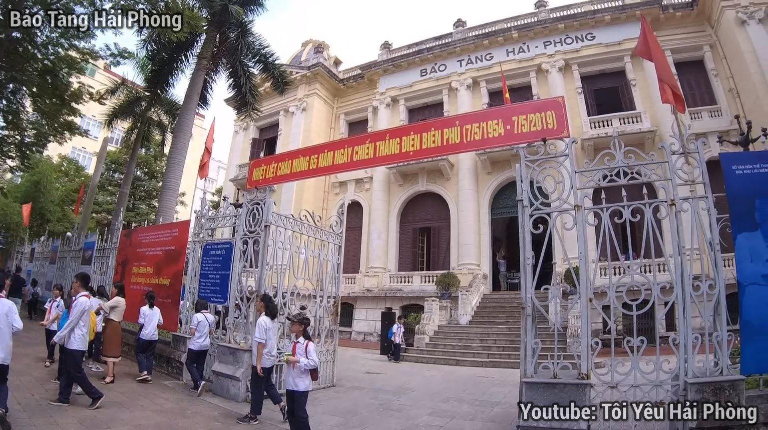 Đường Điện Biên Phủ ở Hải Phòng ngày kỷ niệm 65 năm 2