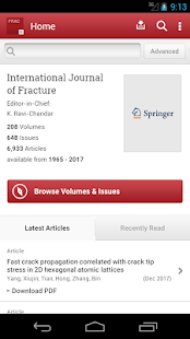 Intl Journal of Fracture - náhled