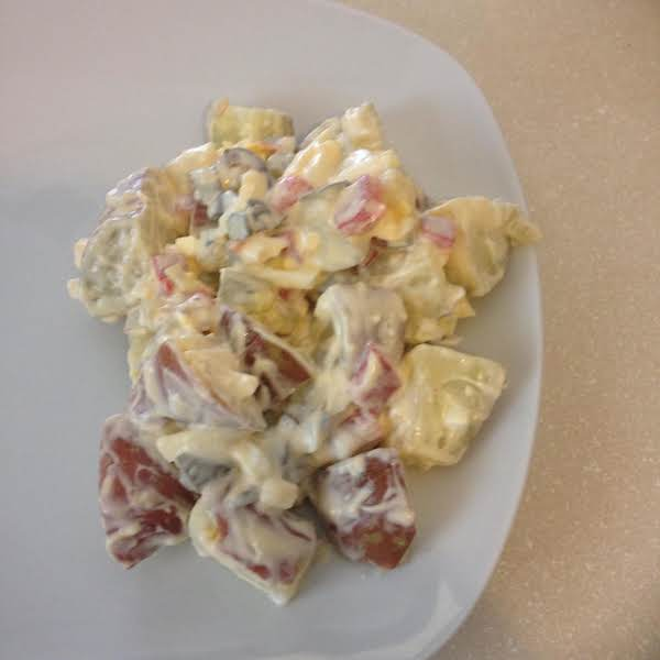 With Red Skin Potatoes